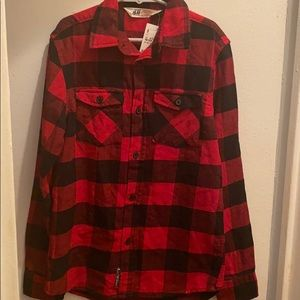 H&M Boys Plaid Shirt
